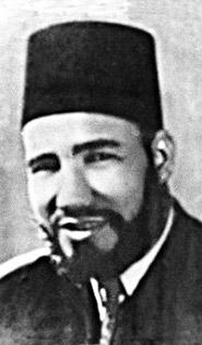 Muslim networks al-Banna portrait 10-09-13