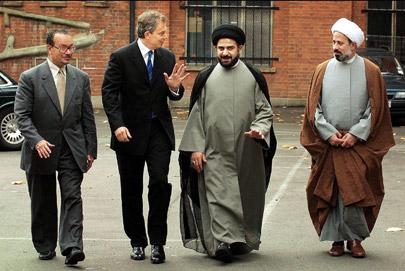 Muslim networks scholars al-Khoei
