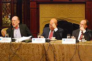 Todd Gitlin, Luis Lugo and Yuval Levin (2)