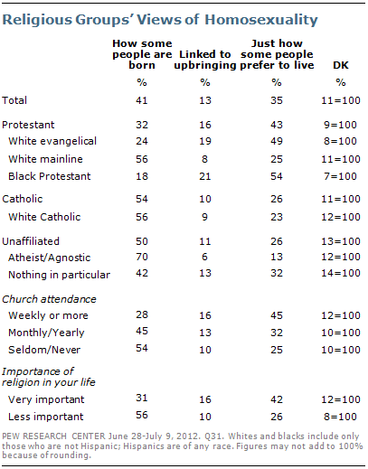 Liberal protestants views on homosexuality