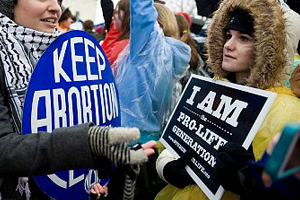 an analysis of abortion in the roe v wade supreme court decision in 1973 The current judicial interpretation of the us constitution regarding abortion in the united states, following the supreme court of the united states's 1973 landmark decision in roe v wade , and subsequent companion decisions, is that abortion is legal but may be restricted by the states to varying degrees.