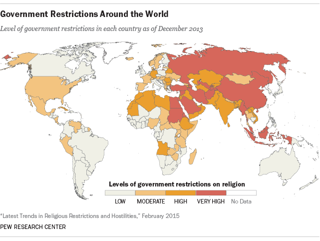 Government Restrictions Around the World