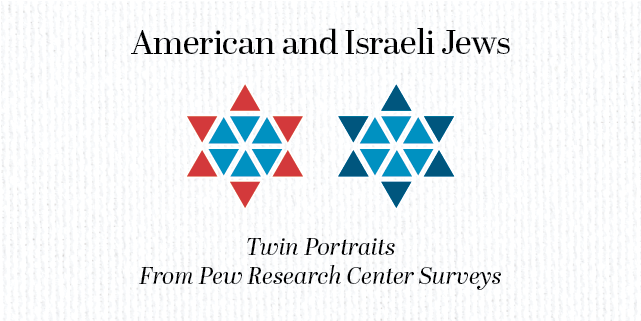 American And Israeli Jews Twin Portraits From Pew Research Center  American And Israeli Jews Twin Portraits From Pew Research Center Surveys   Pew Research Center