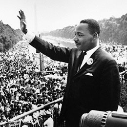 King S I Have A Dream Speech By The Numbers Pew Research Center