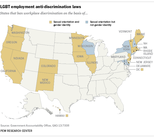 sexual orientation and employment non discrimination act The employment non-discrimination act (enda) is legislation proposed in the united states congress that would prohibit discrimination in hiring and employment on the basis of sexual orientation or gender identity by employers with at least 15 employees.