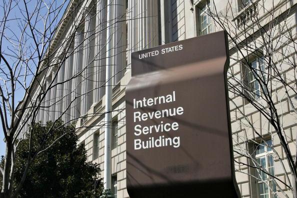 The Internal Revenue Service headquarters building in Washin