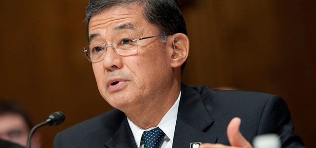 Eric Shinseki, Veterans Affairs Secretary