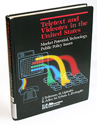 """Teletext and Videotex in the United States,"" by Tydeman, Lipinski et al. (1982)"