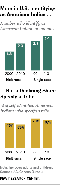 More in U.S. Identifying as American Indian
