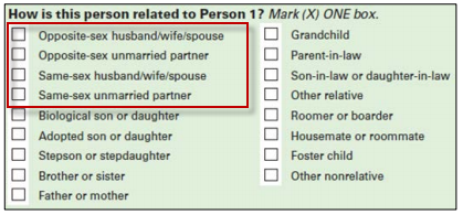Same-Sex Spouse Experimental Question
