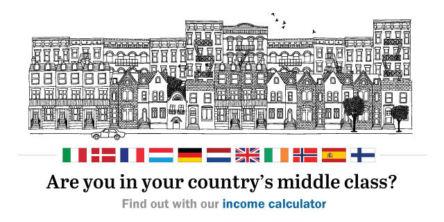 Are you middle class in Western Europe? Try our country-by-country income..