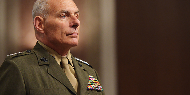 Before becoming President Trump's chief of staff, John Kelly had served as a U.S. Marine Corps general who commanded the U.S. Southern Command. (Mandel Ngan/AFP/Getty Images)