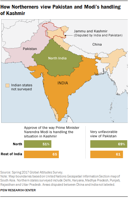 How Northerners view Pakistan and Modi's handling of Kashmir