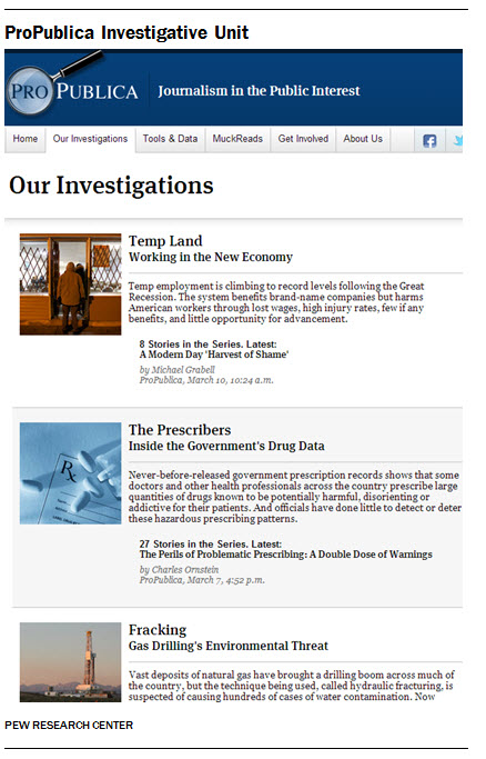 ProPublica Investigative Unit