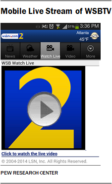 Mobile Live Stream of WSBTV