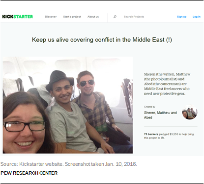 Keep us alive covering conflict in the Middle East (!)