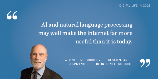 Future of the Internet: Vint Cerf
