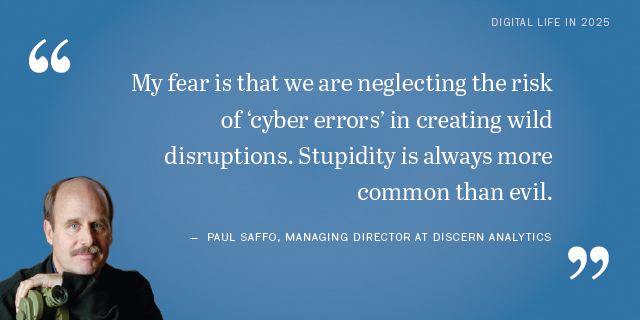 Paul Saffo on the future of cyber attacks