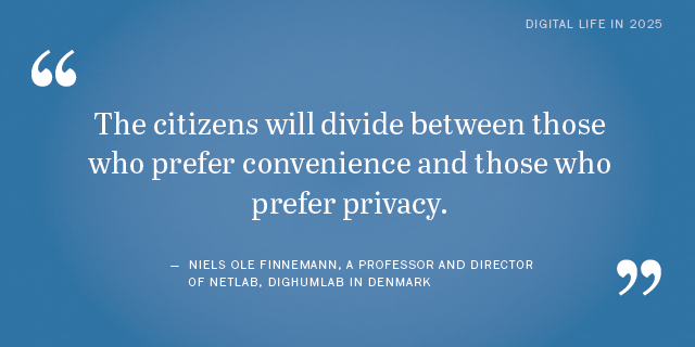 Niels Ole Finnemann on the future of privacy