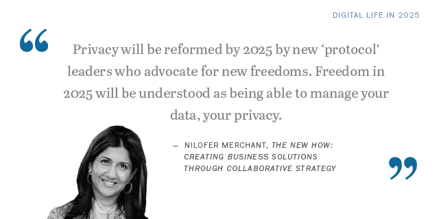 Nilofer Merchant on the future of privacy