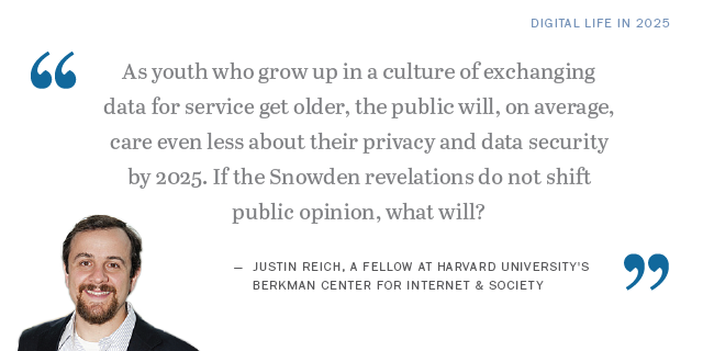 Justin Reich on the future of privacy