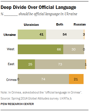 Deep Divide Over Official Language