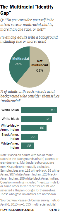 "The Multiracial ""Identity Gap"""
