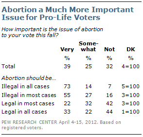 the importance of the issue of abortion