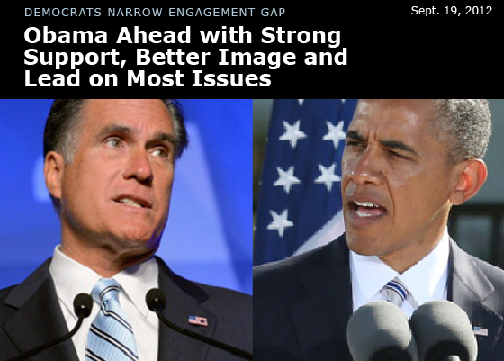 Obama Leads Romney in Latest Poll