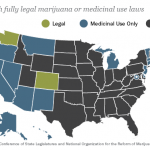 Map: The Legal State of Marijuana
