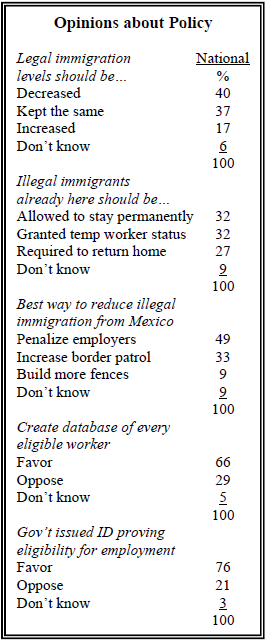 illegal immigration problems and solutions