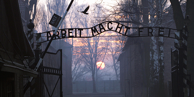 Some of the most notorious Nazi concentration camps, including Auschwitz, shown here, were located in Poland. (Janek Skarzynski/AFP/Getty Images)