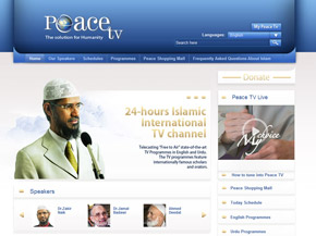 Muslim networks scholars Peace TV