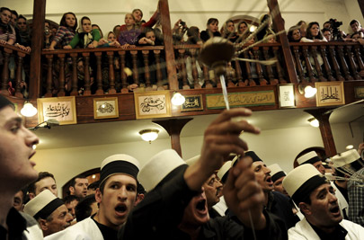 Muslim networks Sufis ceremony 10-09-13