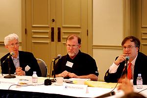 William Galston, Michael Cromartie and Michael Gerson