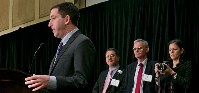 Glenn Greenwald wins Pulitzer Prize for NSA coverage
