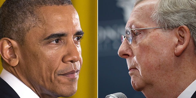 President Obama and soon-to-be Senate Majority Leader Mitch McConnell hold their first post-election meeting on Friday.