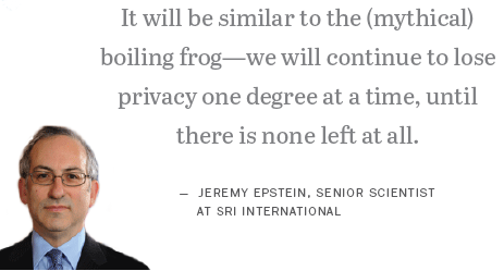 Jeremy Epstein on internet privacy
