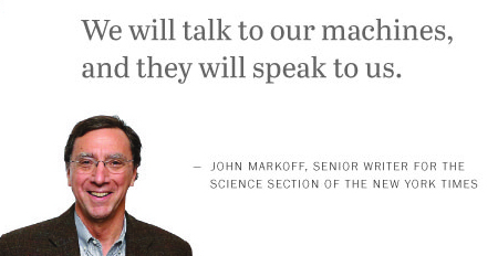 John Markoff on the future of the internet.