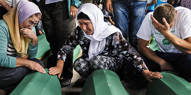 Bosnia Srebrenica War Crimes Genocide Commemoration