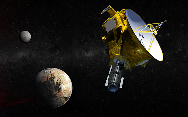 New Horizons Approaches Pluto