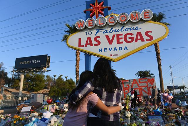 Aftermath of Las Vegas massacre. Image Source: Matt McClain/The Washington Post via Getty Images