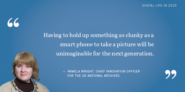 Pamela Wright on the future of killer apps